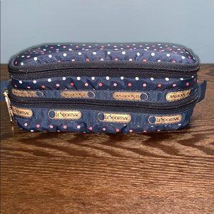 Lesportsac Cosmetics Double Zipper Bag